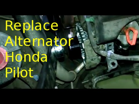 Alternator replacement overview 2007 Honda Pilot 3.5L V6 How to change or replace generator