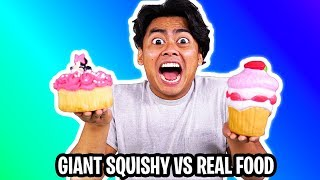 Download Giant Squishy vs Real Squishy Challenge! Video