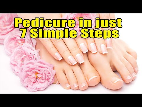 HOW TO DO PEDICURE AND MANICURE AT HOME!! HERE ARE 7 SIMPLE STEPS FOR PEDICURE!! FOOTLOOSE