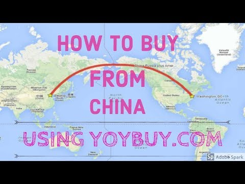 How to buy from China (taobao, tmall, etc) using yoybuy