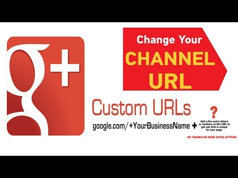 How to Change Google Plus Custom Username! Tutorial