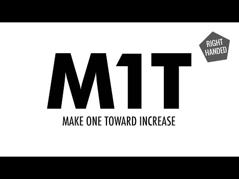 The Make One Toward Increase (M1T) :: Knitting Increase :: Right Handed