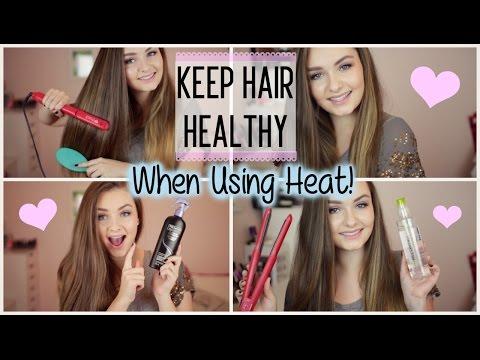 Keep Hair Healthy when using Heat!