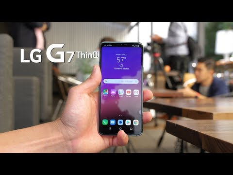 LG G7 ThinQ First Impressions! [Hands-On]