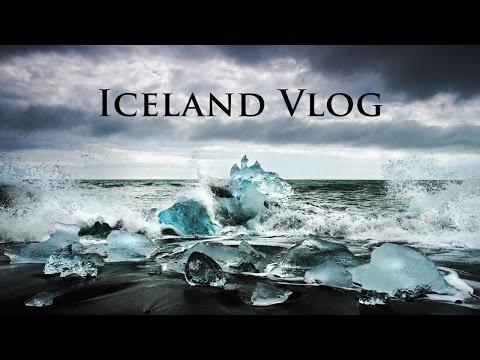 Iceland Vlog #7   Jökulsárlón Glacial Lagoon and Beach   Travel Photographer