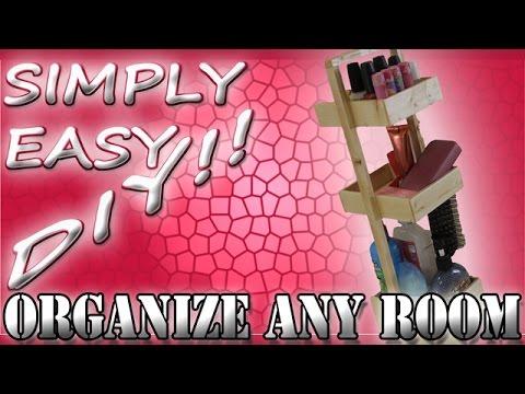 DIY Storage Caddy - Bathroom or Any Room Organization