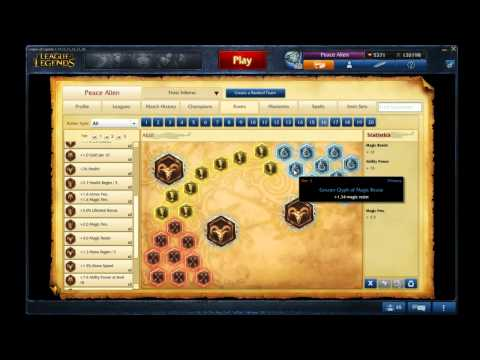 Fizz Mid Runes/Masteries S4