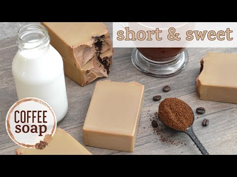 Short & Sweet: Coffee Soap | MO River Soap