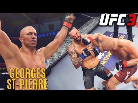 Georges St-Pierre Has Crisp Striking! EA UFC 3 Online Ranked Gameplay