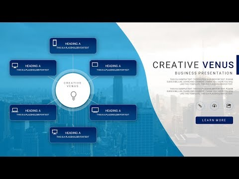 How To Design Creative SmartArt for Presentation in Microsoft Office PowerPoint PPT