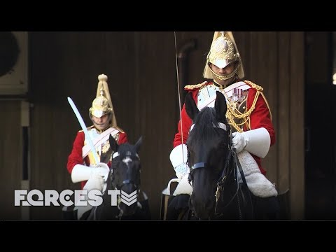 The Household Cavalry Gets Ready For The Royal Wedding | Forces TV