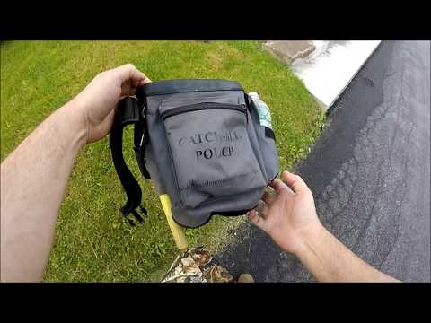 """Gray Ghost """"Catch-All"""" Pouch for Metal Detecting Finds"""