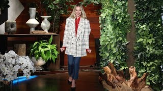 Margot Robbie Herniated a Disk for