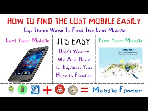 How to Find the Lost Mobile || How to Find the Lost Smartphone - Explained || Tamil Library