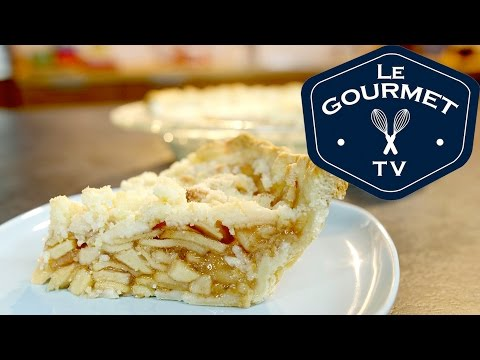 Apple Crumble Pie Recipe - LeGourmetTV