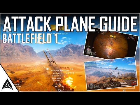 HOW TO BE A BEAST IN THE ATTACK PLANE - Battlefield 1