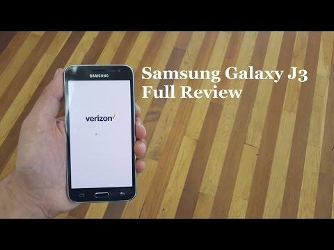 Samsung Galaxy J3 Full Review For Verizon Wireless