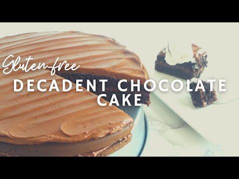 Decadent Vegan Chocolate Cake | How To Make A Gluten-free Chocolate Cake | Korenn Rachelle