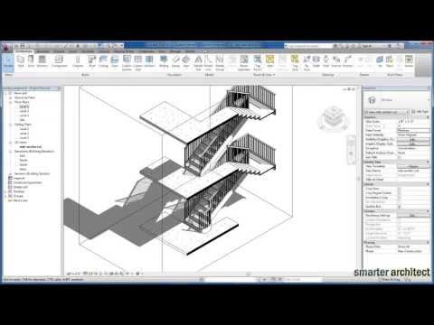 Revit Tutorials: Creating Stair By Component