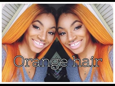 How To : Orange Hair