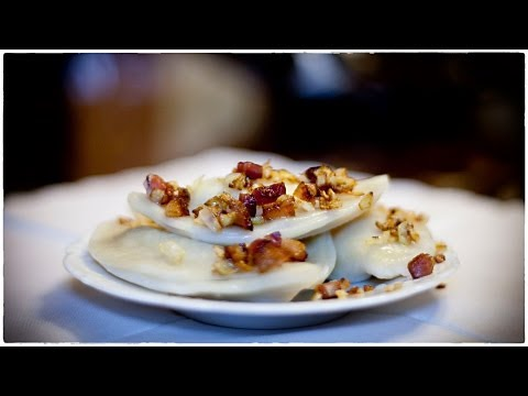 Cheese and Potatoes Pierogies - Pierogi Ruskie - Ania's Polish Food Recipe #39