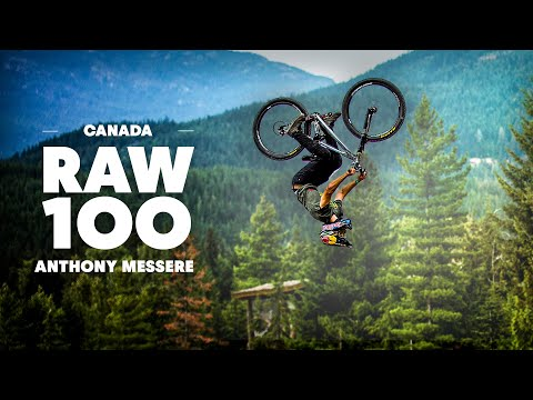 Anthony Messere's Flowy MTB Session on Backyard Dirt Jumps | Raw 100