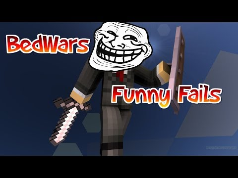 BEDWARS FUNNY FAILS 😆