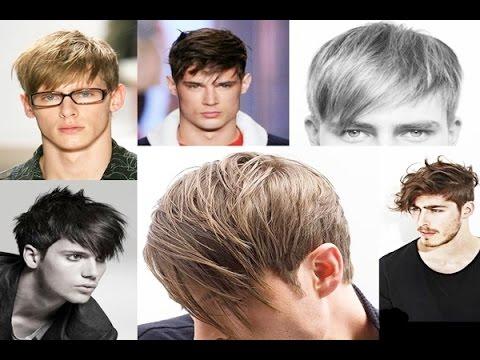 Latest Mens Hairstyles 2015 with  Long, Short, Medium Fringe Bangs 2015