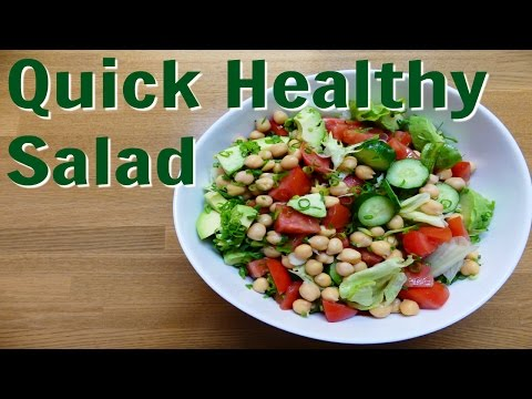 How To Make A Quick Healthy Salad