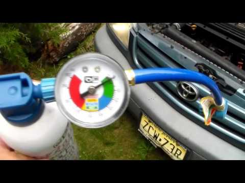 How to stop leaks on your car's A/C system & charge Freon