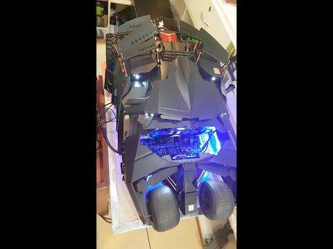 DIY CPU!HOTTOYS BATMOBILE TUMBLER