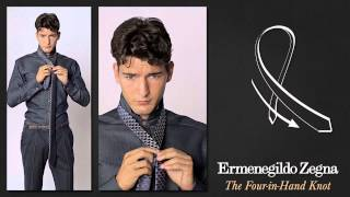 Download How to Tie a Four in Hand Knot - Ties Around the World - The Knots - Ermenegildo Zegna Video