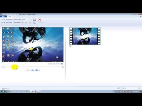 Windows Movie Maker Tutorial 2012/2013 Split & Trim  - Free 4 Windows 7 & 8