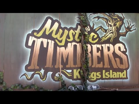 Mystic Timbers Review Kings Island GCI Roller Coaster