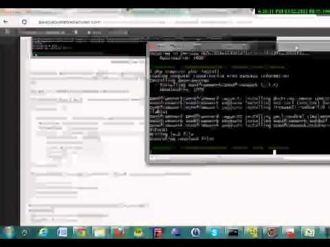 Zend Framework 2: Tutorial Part 1: installation tutorial step by step