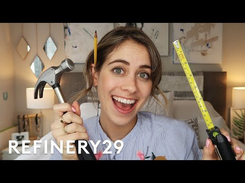 Lucie Fink's Exclusive New Bedroom Tour   Lucie For Hire   Refinery29