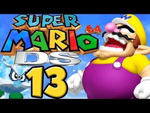 SUPER MARIO 64 DS # 13 ★ Wario for President! [HD]