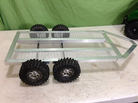 RC 1/10 Scale Tandem Axle Trailer Build