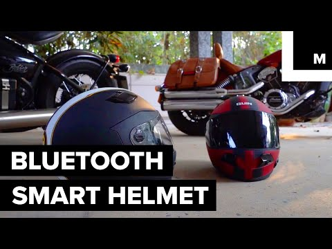 Stay Safe and Comfortable with This Bluetooth Smart Helmet