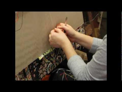 how the turks make a handmade rug