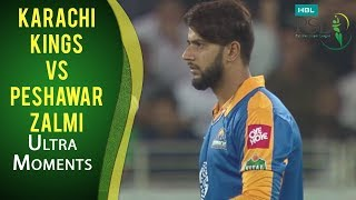 PSL 2017 Playoff 3: Karachi Kings vs. Peshawar Zalmi - Ultra Motion Moments