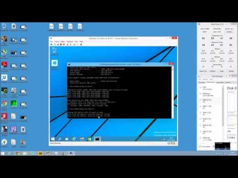 Windows 10 Server Domain Controller HOW TO SET UP