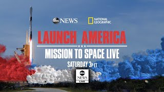 Watch SpaceX Live: Second Launch America - Mission To Space from the Kennedy Space Center