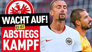 Darum ist Eintracht Frankfurt ein Abstiegskandidat   FUSSBALL 2000 - Eintracht-Videopodcast