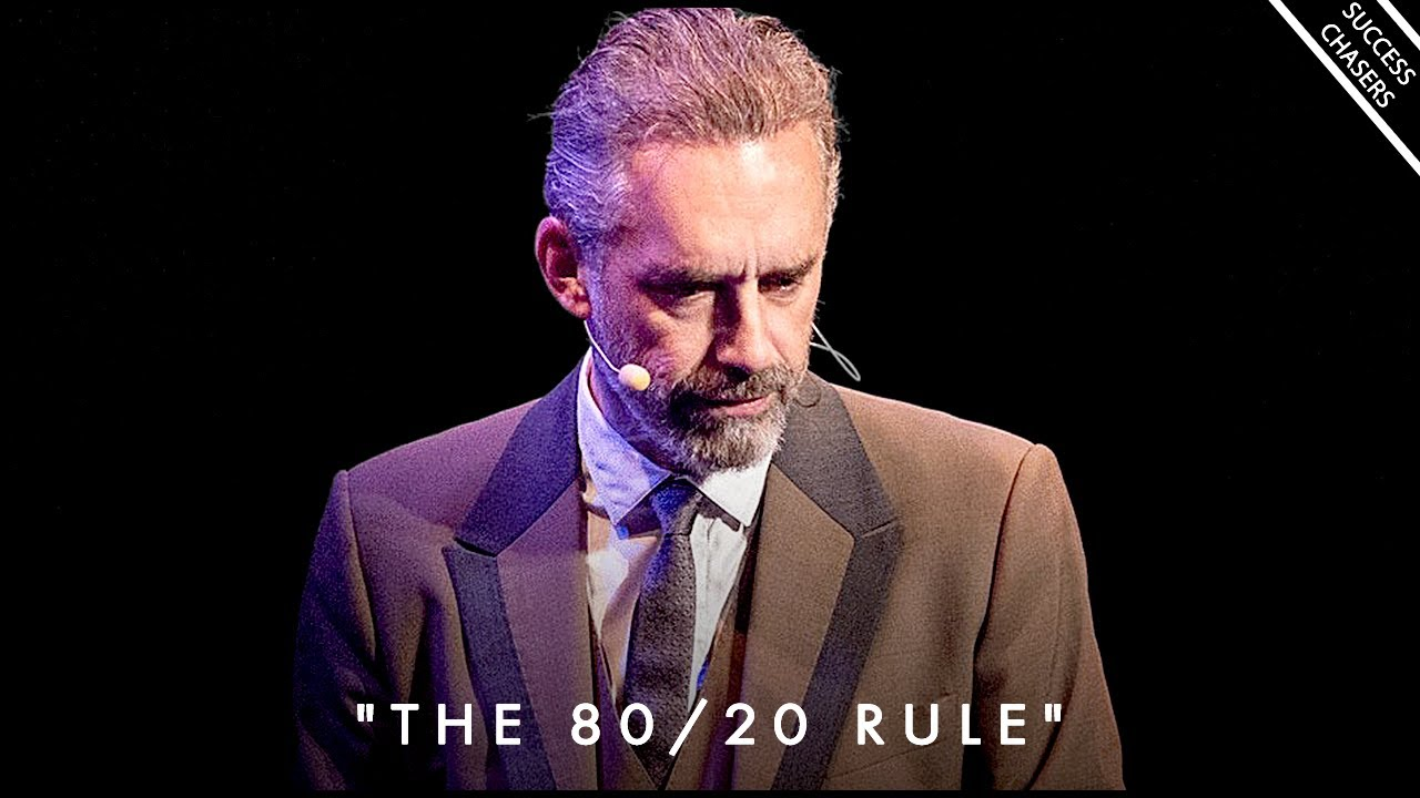 """Truth About The """"EVIL"""" 1% of Society (secret behind the 80/20 rule) - Jordan Peterson Motivation"""