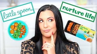 LITTLE SPOON PLATES VS NURTURE LIFE REVIEW | Meal Delivery Service for Kids