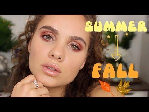 Summer to Fall Makeup Tutorial