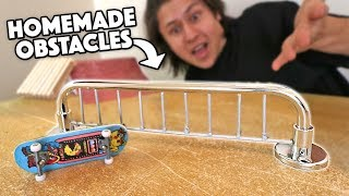 5 EASY D.I.Y FINGERBOARD OBSTACLES!