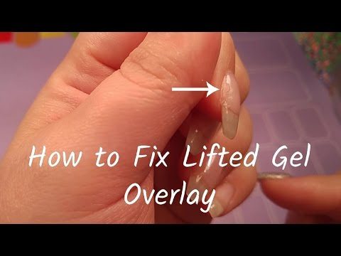 How I Fix My Lifted Gel Overlay