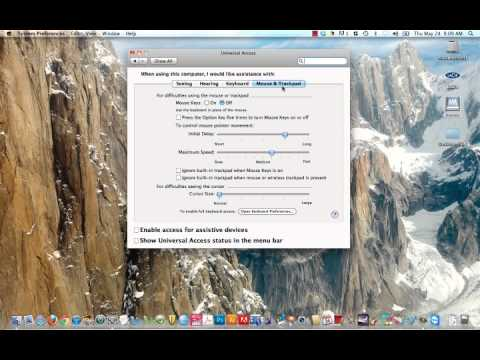 Change your mouse cursor on a Mac